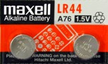 Maxell Coin and Button Batteries